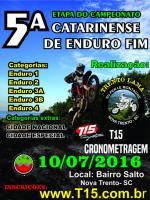5� Etapa Catarinense de Enduro FIM