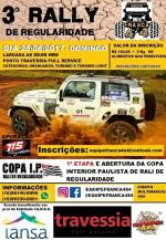 3º Rally de Regularidade Franca 4x4