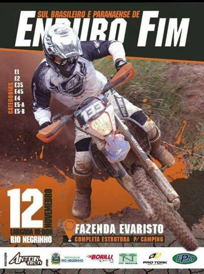 Parananese de Enduro FIM - Rio Negrinho
