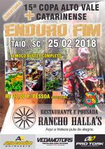 Abertura Copa Alto Vale de Enduro FIM - Taió