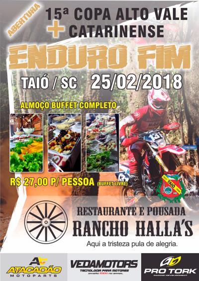 Abertura Catarinense de Enduro FIM - Taió