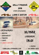 Rally Paraná 2018 - Apucarana