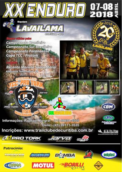 20º Enduro Equipe Lavailama - Brasileiro