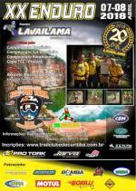 20º Enduro Equipe Lavailama - Paranaense e TCC