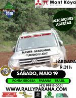 Rally Paraná 2018 - Ponta Grossa